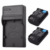 2x 2650mAh LP E6 LP E6 LPE6 Battery USB Charger For Canon EOS 5DS R 5D
