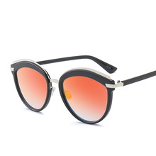2017 new fashion sunglasses all-match our street shooting glasses trendsetter
