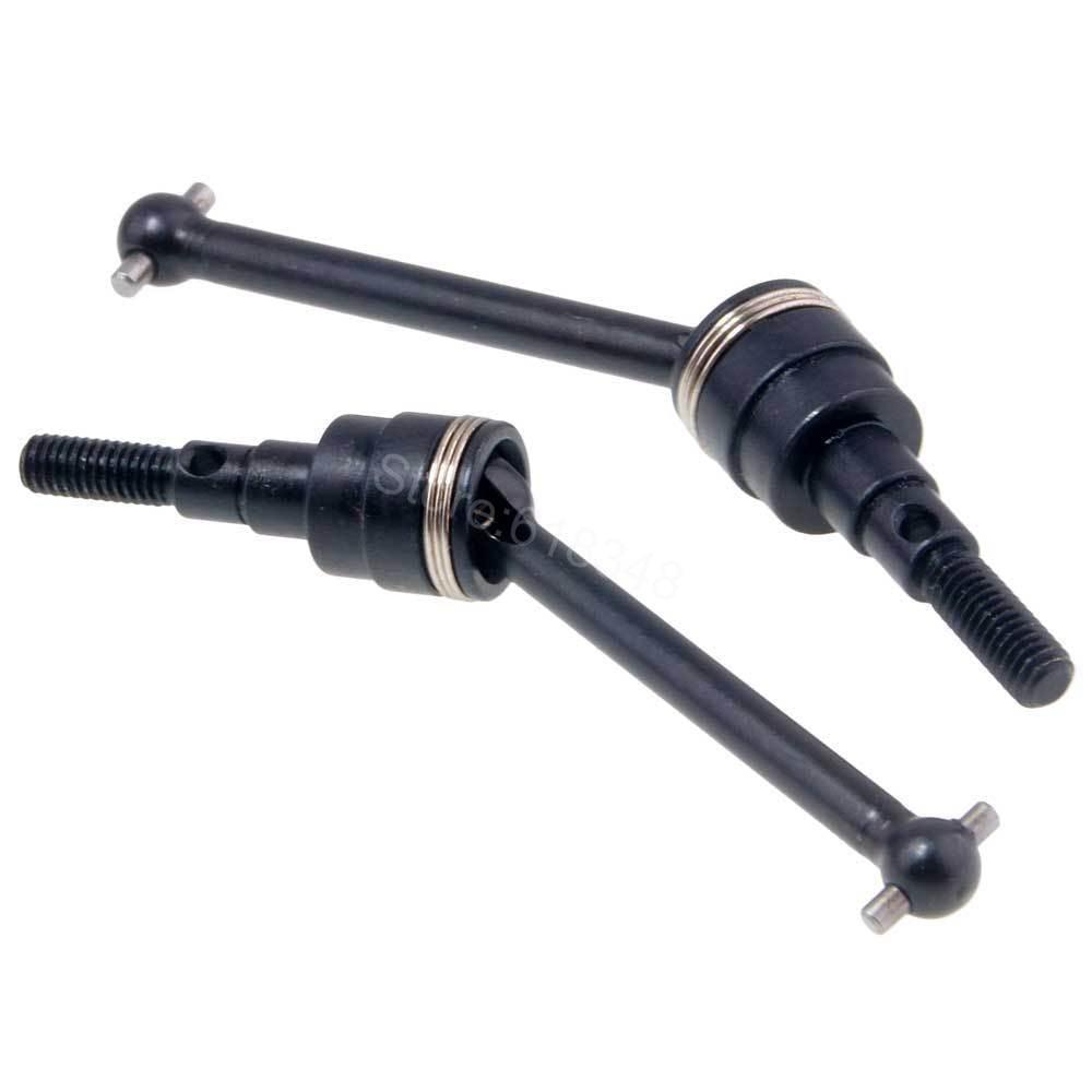 купить  2pcs Metal Universal Driven Dogbone Driveshaft CVD For 1/10 RC TAMIYA CC01 Rock Crawler Spare Upgrade Parts Hop-up  онлайн