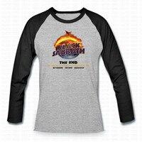 Black Sabbath Classic Heavy Metal Rock Men T Shirt Ralgan Long Sleeve Cotton Rock O Neck