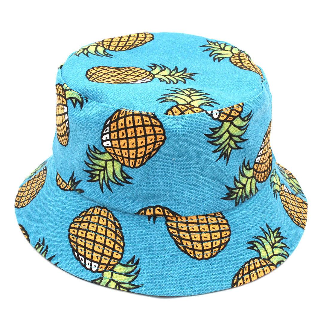 21b2cc0fbc4 Women Men Cotton Bucket Hat Boonie Hunting Summer Fishing Outdoor ...