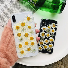 Dried Real Flower Cases For iPhone XS Ma