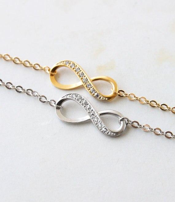 Femme Jewelry Infinity Bracelet Friendship Bff Fashion For Women Wedding Gift Ideas B 0031 In Chain Link Bracelets