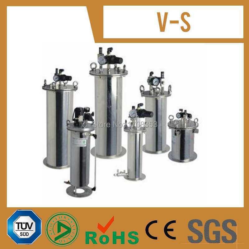 Réservoir de pression d'acier inoxydable de colle d'expédition gratuite avec le prix usine