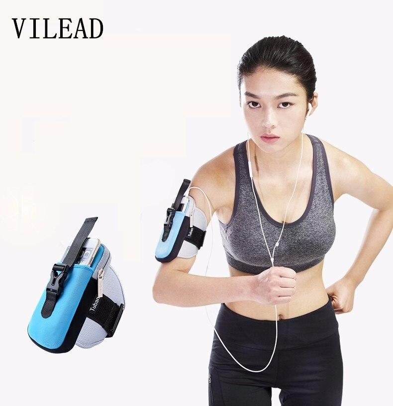 VILEAD Brazo Corriendo paquete brazo Bolsa de Fitness Deportes de Las Mujeres Ma