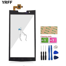 YRFF 4.7'' For Doogee T3 Touch Screen Touch Digitizer Panel Front Glass Len Sensor Capacitive Tools Adhesive(China)