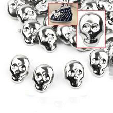 Spots-Spikes Shoes Punk Garment Rivets-Decor Studs-Alloy Leather Craft Skull-Shape Rock-Design