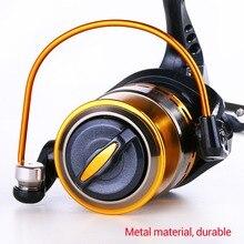 Sougayilang Hot Sale 13+1BB Fishing Reel YB2000/3000/4000/5000 and 5.5:1Gear Ratio Metal Material Spinning Reel Carp De Pesca