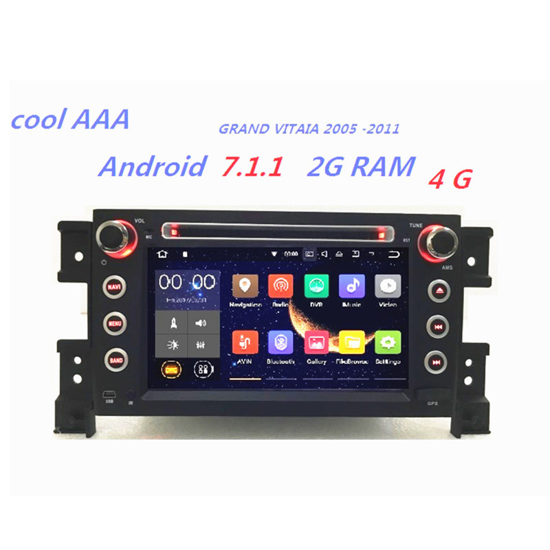 rns 510 radio android7 1 2 for vw passat b6 polo sharan tiguanwholesale! car radio dvd gps android 7 1 2 for grand vitara 2005 2011
