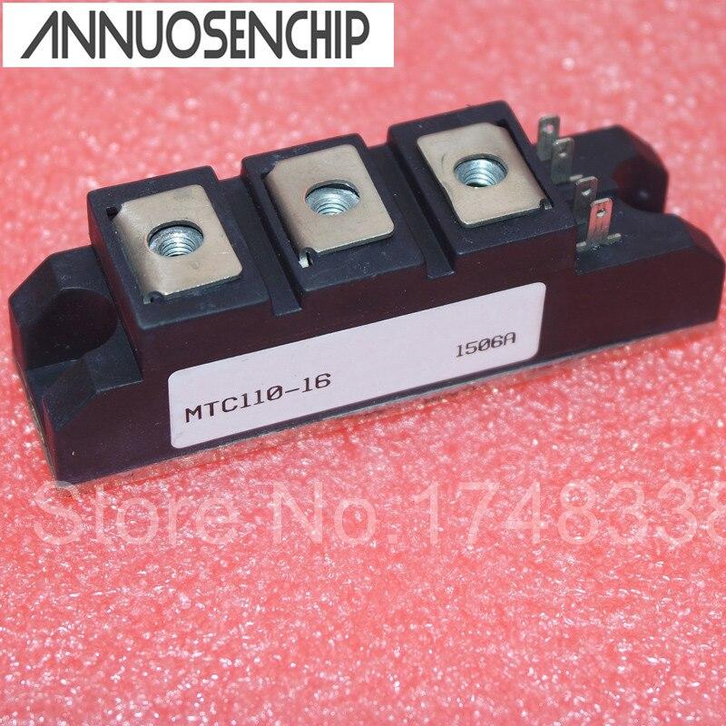 Обычный тиристорный модуль SCR, MTC 110-16 12 110A 400-1600 в, новый оригинальный модуль, для MTC110-16, с, для,