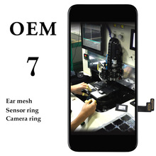 OEM 3 pcs  LCD For iPhone 7 LCD with touch Complete Display with Glass Touch Screen Digitizer Repair Assembly In Stock  100% test oem quality for apple iphone 7plus lcd complete display screen with touch glass digitizer assembly free shipping