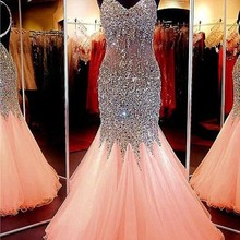 dreaming truing Mermaid Prom Dresses 2019 Party Dress