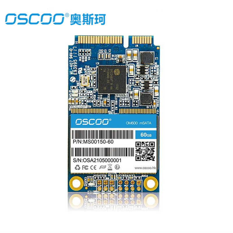 OSCOO OM600 mSATA Internal Solid State Drive 60GB 120GB 240GB 480GB SSD (MLC NOT TLC)4mm Hard Disk Drive for PC Laptop Notebook кофеварка рожкового типа vitek vt 1524 gd