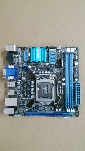 Motherboard original para P8H77-I DDR3 LGA 1155 placas para i3 i5 i7 22/32nm cpu 16 GB USB3.0 H77Desktop motherboard Frete grátis