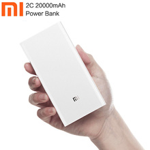 Original Xiaomi 20000mAh Power Bank 2C External Battery port