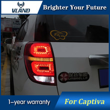 LED Strip Rear Lights For Captiva Tail Light 2008-2014 Brake Light Reversing Light Turn signal(China)