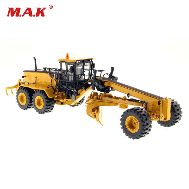 Collection Diecast 1/50 Scale 24M Motor Grader-High Line Series 85264 Diecast Excavator Truck Car Vehicles Diecast Model collection diecast 1 50 scale m318f wheeled diecast excavator truck car vehicles diecast model