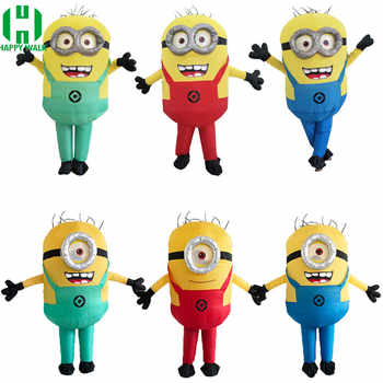 Halloween Costume For Women Men Minions Inflatable Despicable Adult Fancy Dress Costume 3 Colors Minion Inflatable Costume - DISCOUNT ITEM  30% OFF All Category