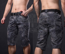 Running Camping ShortsCamouflage Cargo Shorts Men Cotton Sport Shorts Outdoor Hunting Tactical Shorts(China)