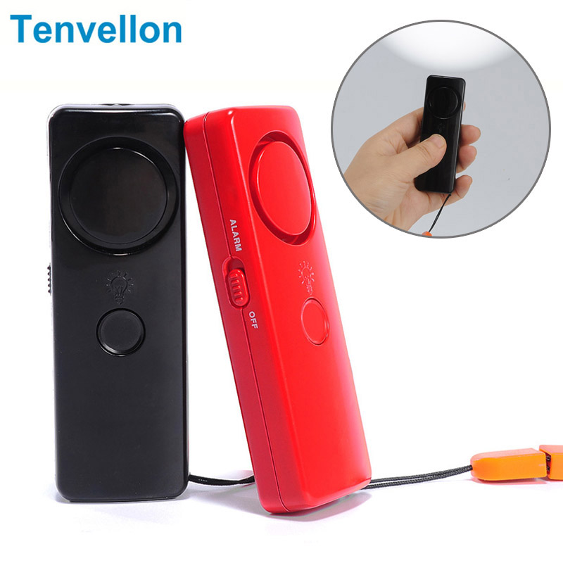 Mini Personal Alarm Emergency Alarm Security Protection Personal Defense Tool with LED Light Lady Self-defense Protector