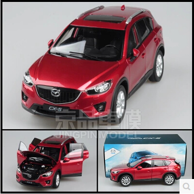 ФОТО Mazda CX-5 1:18 Original simulation alloy car model Japan SUV red&blue Collection gift Toy high quality