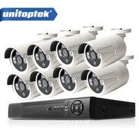 8 Stücke 4.0MP HD Ip-kamera Im Freien Wasserdichte 8CH H.265 POE Überwachungskamera NVR CCTV System P2P Tag/Nacht ansicht Surveillance Kit