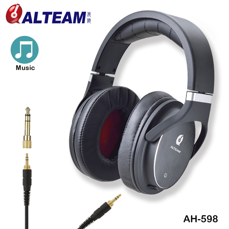 Luxury Gift Wired Long Cable Black Pro Audio Audiophile HD HiFi Hi Fi High Fidelity Headphones Without Mic for Music Player acemic bt 10 pro wired acoustic bass microphone high fidelity voice