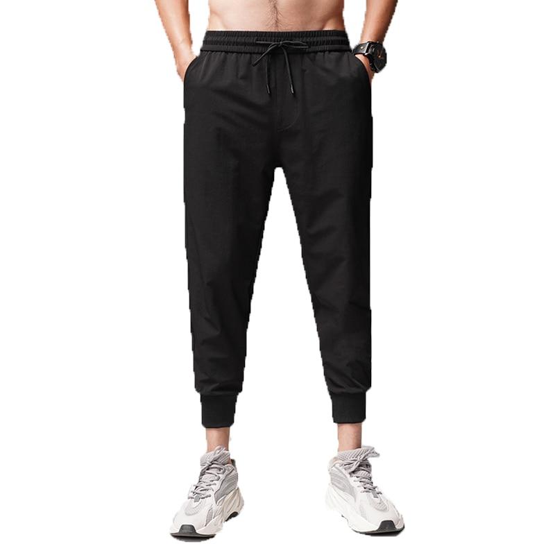 Harem Pants Ankle-Length-Pants Business-Trousers Joggers Men Male Classics Casual Mens