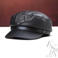 Svadilfari חדש 2017 כובע צבאי 100% עור פרה באיכות גבוהה התחממות חורף גברים נשים שווי עבור משלוח חינם אב חם מכירה