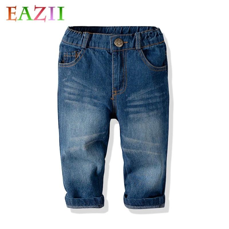 Baby pants Toddler Boy solid blue pants Unisex Leggings