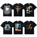 2PAC Tupac T Shirt Kanye Angel Anatomy Duck In Utero Top Tees Gangsta Rap Tupac Hip Hop Street Clothes Tupac Tee 2PAC T Shirts