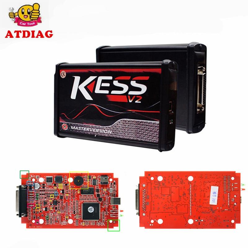 Master Online EU Red No Token KTAG V7 020 OBD2 Manager Tuning Kit K TAG 7