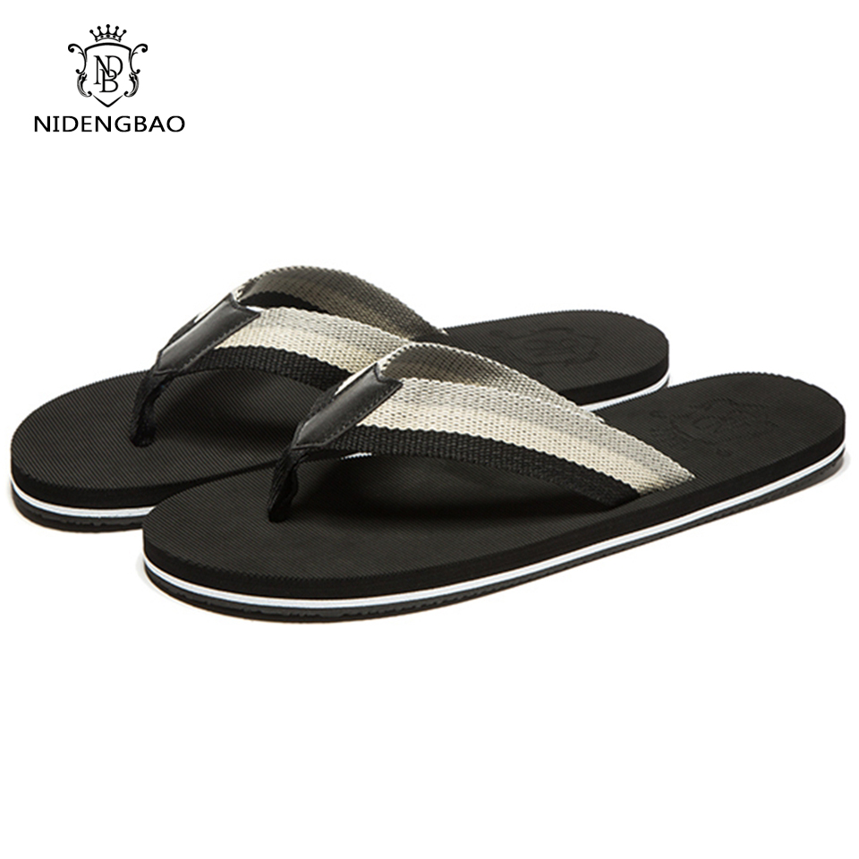 Men's flip flops Beach Sandals High Quality 2017 New Arrival Summer Cool Colorful Slippers Sandals for Men Shoes Eur Size  high quality man flip flops slippers beach sandals summer indoor