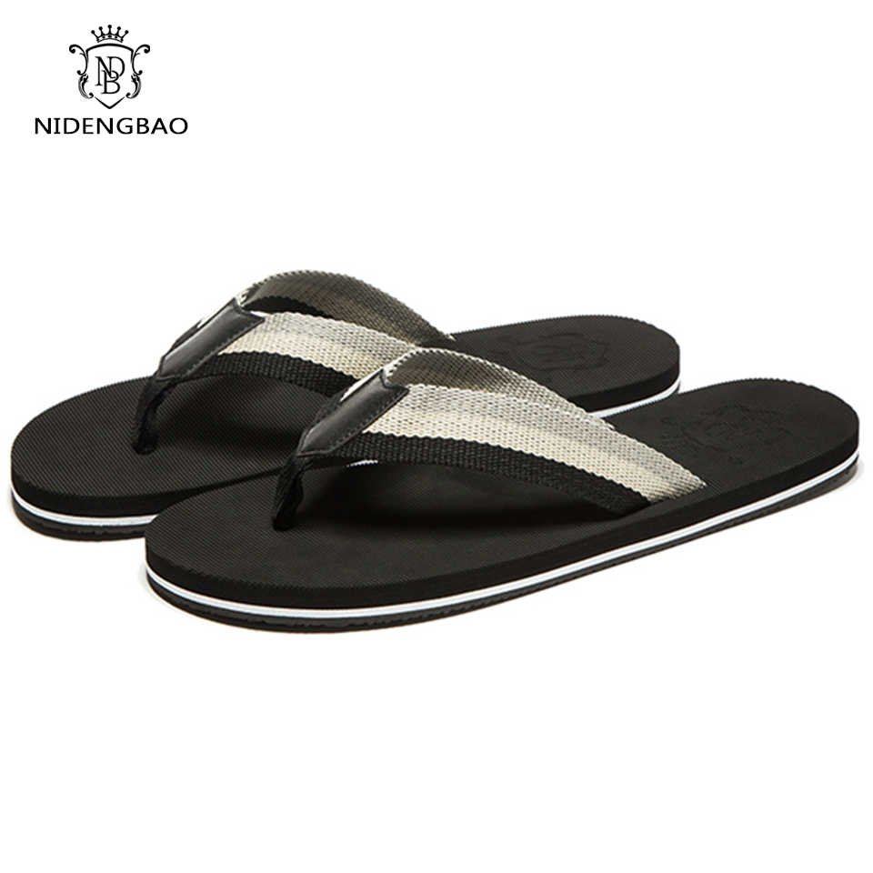 94fb998d8 Men s flip flops Beach Sandals High Quality 2017 New Arrival Summer Cool  Colorful Slippers Sandals for