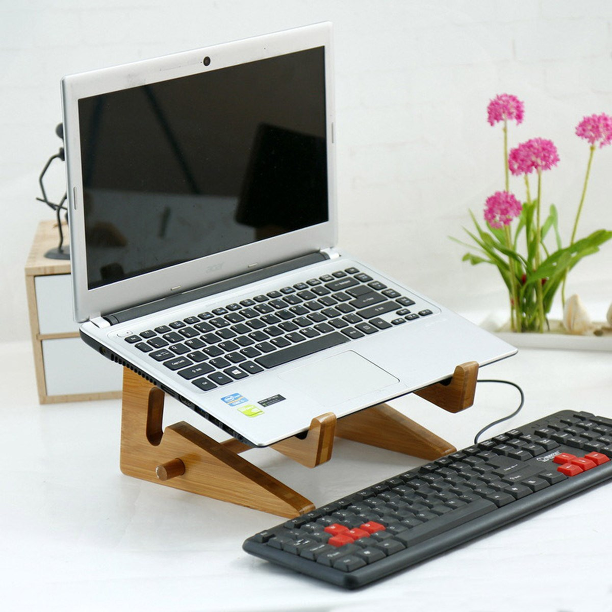 Compare Prices on Wood Laptop Stand Online ShoppingBuy Low Price