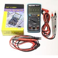 Yüksekliği kaliteli 100 Taşınabilir Otomatik Kademe Dijital Multimetre 4000 Sayımlar Arka AC/DC Ampermetre Voltmetre Ohm Taşınabilir Metre