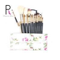 Princess Rose Brand 12pcs Professional Make Up Makeup Brushes Set With Bag Foundation Blush Contour Eyeshadow