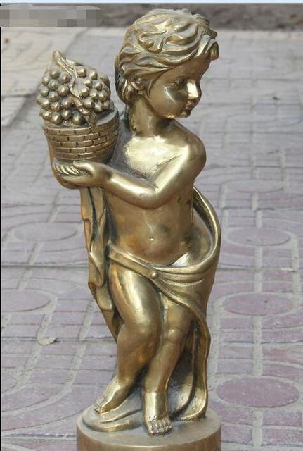 Ange Sculpture engel mit fackel bronze marmor putto amor angel ange angelo angel
