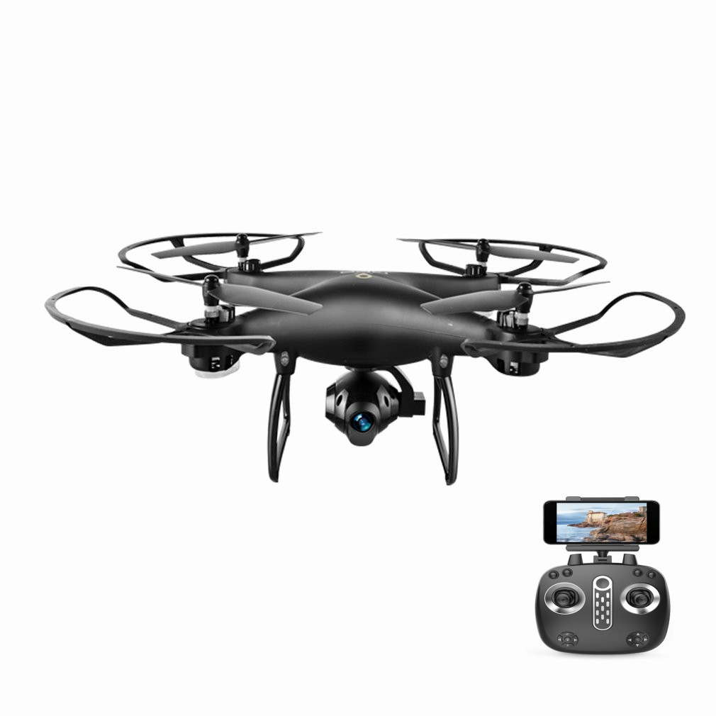 LH-X25W Selfie Foldable GPS Positioning RC Drone Quadcopter with 720P Wifi FPV Adjustable Camera Follow Me One Key Return