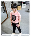 casual boys girls sport hoodies +pants two pieces sweatshirt children clothes baby kids coat jacket clothing HB1220