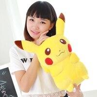 100% new about 45cm cartoon pikachu plush toy soft doll Christmas gift b0808