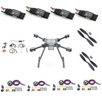 S550 multi axle parts DIY drone aerial photography multi rotor model s550 six axle 2812 brushless