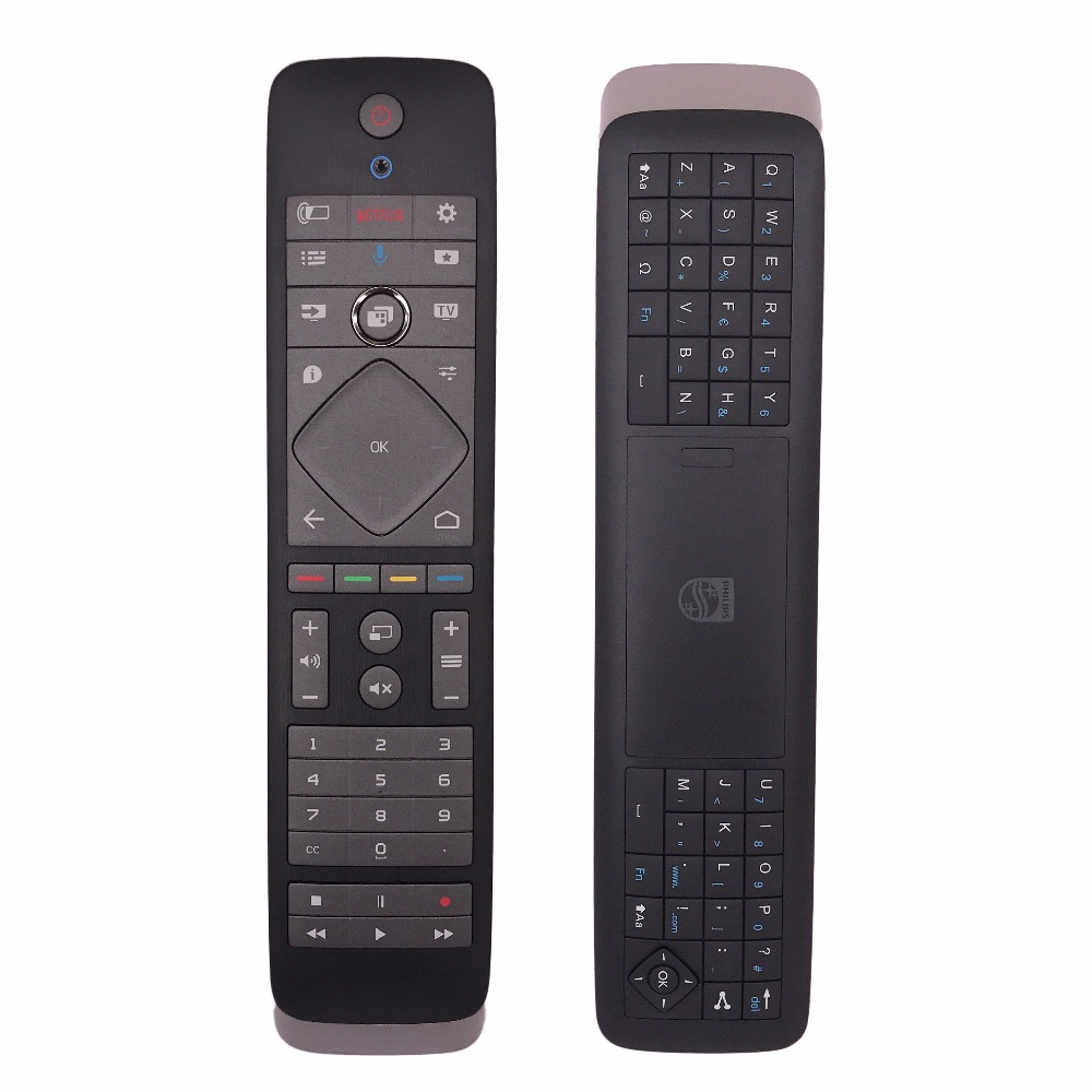 New Original YKF384-003 Remote Control For PHILIPS 398GF10BEPH04T Ambilight Smart TV LED With Keyboard Remoto Controle mando brend new genuine original remote control for philips ht090316 13 05 31 tv television fernbedineung