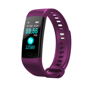 Image 4 - Bluetooth inteligentny bransoletka kolorowy ekran Y5 inteligentna opaska monitor tętna pomiar ciśnienia krwi inteligentny zegarek fitness Smart watch mężczyźni