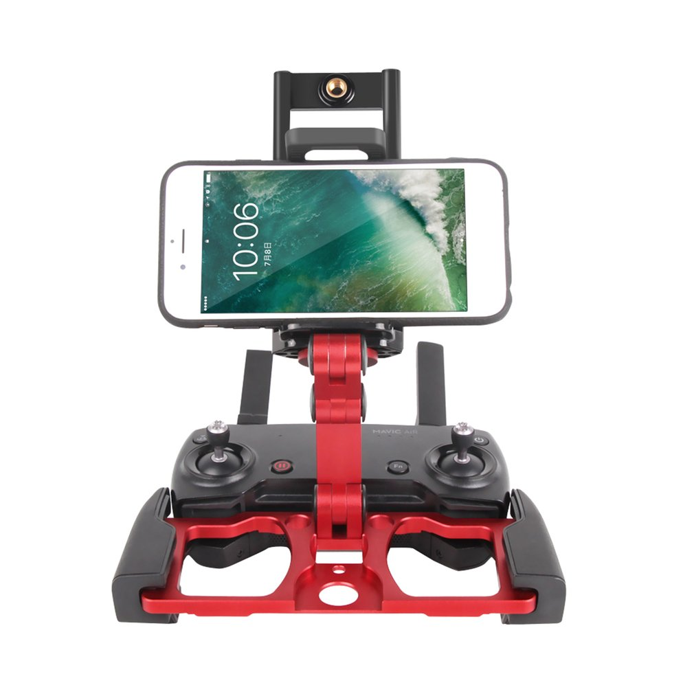 Foldable Aluminum Monitor Stand Holder Bracket Mount for DJI Mavic Pro Air Remote Controller Mobile Phone Tablet HolderFoldable Aluminum Monitor Stand Holder Bracket Mount for DJI Mavic Pro Air Remote Controller Mobile Phone Tablet Holder