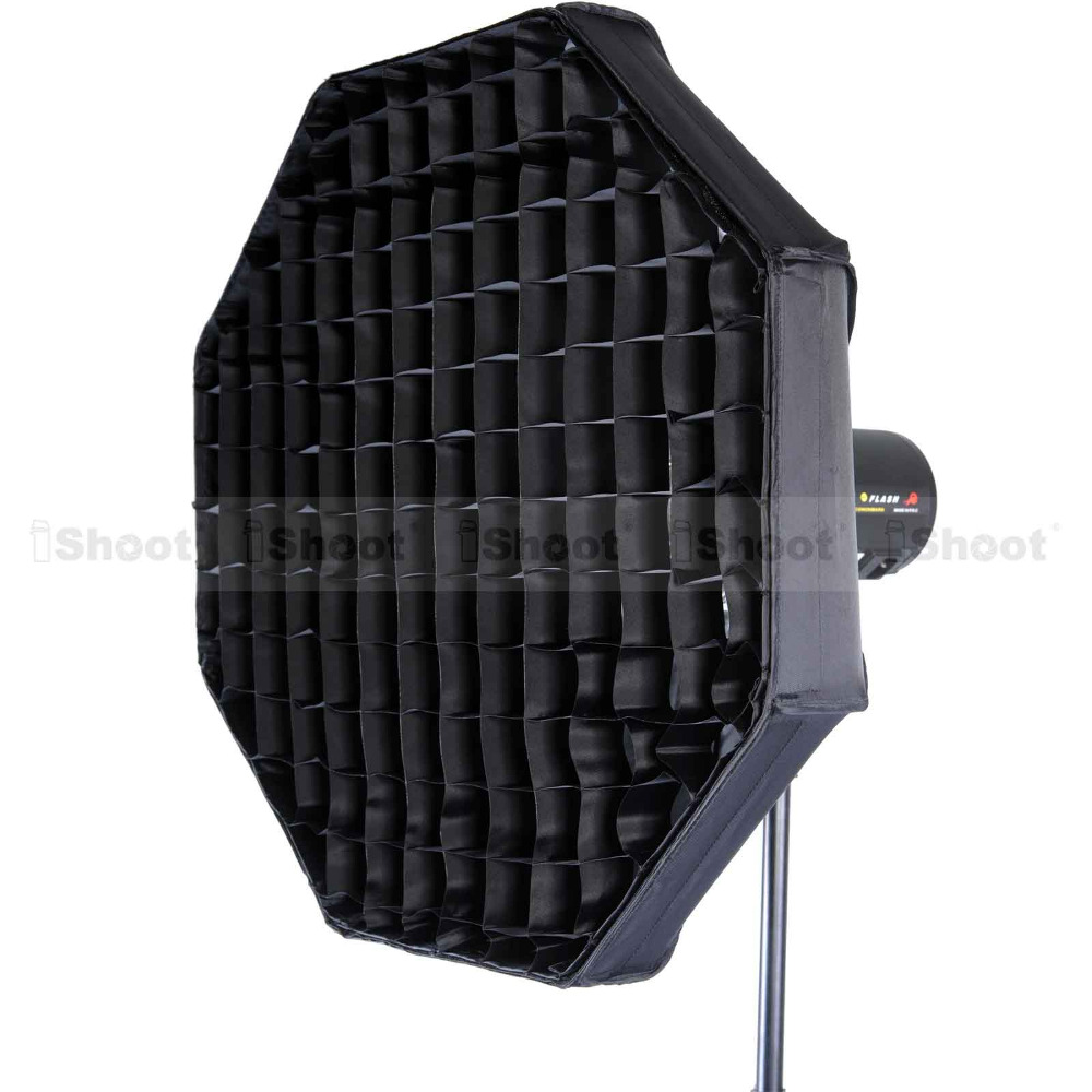 37 Octagon Honeycomb Grid Softbox With Flash Mounting For: 60cm Octagonal Comet Mount Beauty Dish Studio Flash Light