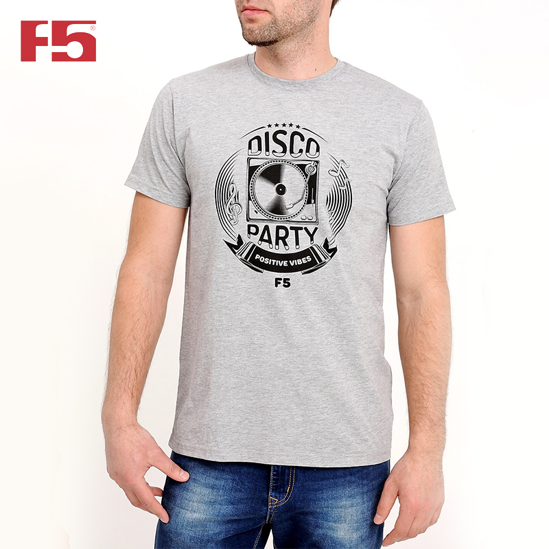 Men Tshirt F5 180072 men ink painting print tshirt