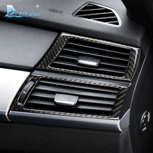 Airspeed Carbon Fiber Side Air Conditioning Outlet Decorative Frame Cover Trim for BMW E70 X5 E71