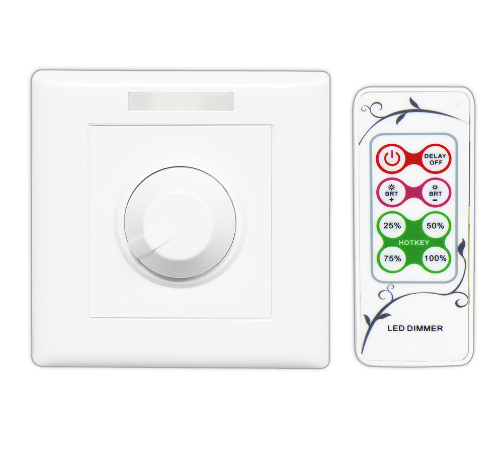 BC 320 010V LED Dimmer IR remote wall mounted LED Dimmer 0
