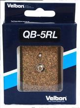 Velbon plaque à dégagement rapide, pour la QB 5RL de la PH 358